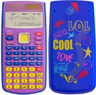 Foto: Verkauft Rechner CITIZEN - CALC. SCIENTIFIQUE CITIZEN SR-270X LOL BL COLLECTO