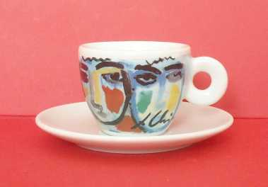 Foto: Verkauft Keramike ILLY ART COLLECTION - TAZZINA - Tasse