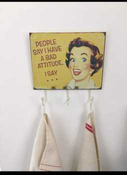 Foto: Verkauft Dekorativer Gegenstand DECORATIVE TEA TOWEL HANGER