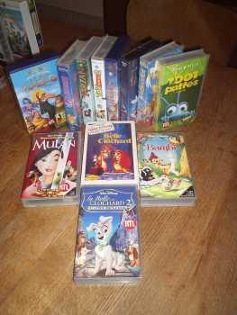 Foto verkauft 12 vhs anime zeichentrickfilme bambi aristochats